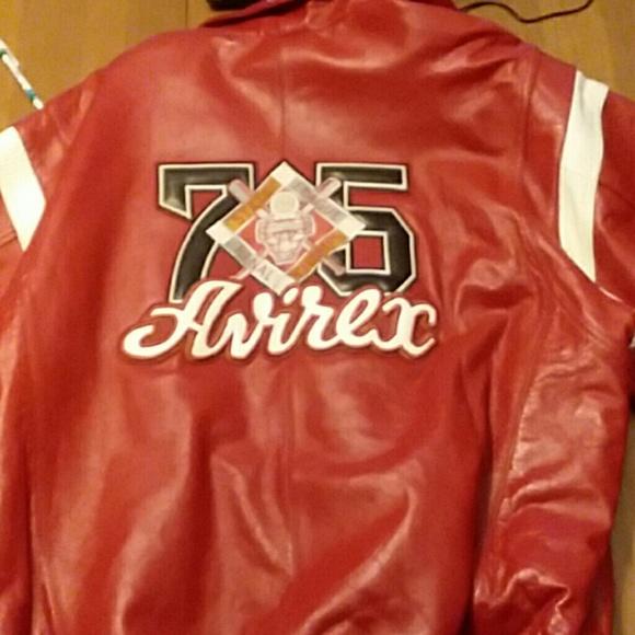 Other - Avirex leather jacket